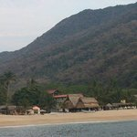 Vista playa Yelapa