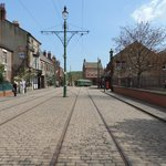 Main street in the 'Town' section of Beamish