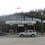 Front of Lobstick hotel