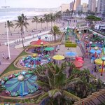 View of North and South Beach From Fun Amusement Park