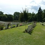 Ramparts Cemetery within easy walking distance from Albion Hotel
