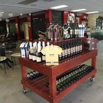 Lots of wine and neat items for sale