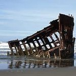 Peter Iredale - today