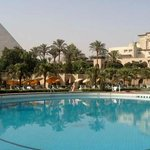 This palatial hotel in the shadow of the Great Pyramids in Cairo has enchanted guests since 1869