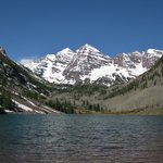 Maroon Bells May 2013