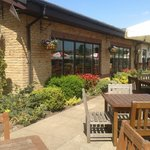 The Beer Garden at the Oakenhurst Restaurant