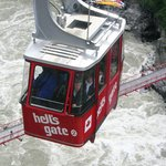 Ride the tram from highway level down to the bottom of the Fraser Canyon.