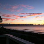 Sunrise over Plettenberg Bay