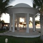 The wedding gazebo
