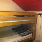 Bunk beds in adjoining small room