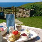 Enjoy a truly cornish cream tea!