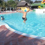 La piscina del Camping Village Free Time