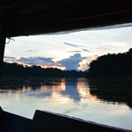Sunset on Tambopata