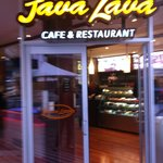 Java Lava Cafe Hornsby.  Come on in, they are open!