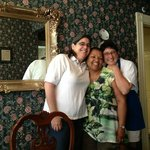 Innkeepers Trish and Elaine with me in the middle.