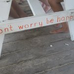 do what the picnic table says