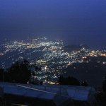 night view of Gangtok city