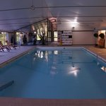 The pool and gym