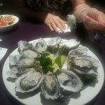 Amazing oysters well priced - $24 a dozen in June 2013