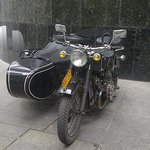 Vintage sidecar motorcycle private tours - Shanghai Insiders