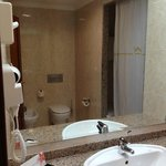 Clean, well equipped and presented bathroom
