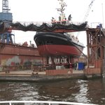 Ship on Dry dock