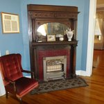 Fireplace in the Common Area