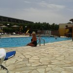 The pool at the Kalia Beach Hotel