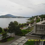 view towards Stresa from 4th floor