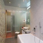Hydromassage Bathtub at Antares Hotel Rubens Milan
