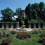 Kyekuit Rose Garden in the Historic Hudson Valley.