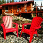 Relax and soak in the midnight Alaskan sun