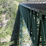 Thomas Creek Bridge - highest in Oregon!