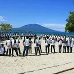 beach autbound at Grand Elty Krakatoa - Lampung