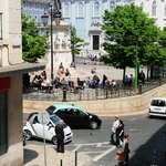 View from the balcony - Zuza Chiado Studio