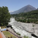 Beas river flowing view from room