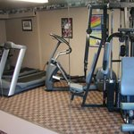 This Spokane Hotel features a 24 Hour Fitness Center