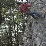 My children enjoyed Rock climbing and rappeling at Hatu Peak.