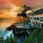 Poipu Shores Exterior WPool Sunset Lo Res
