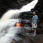 My visit to Eternal Flame Falls
