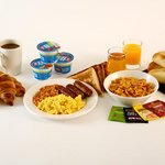 Free breakfast is included in all room prices at our Derby hotel