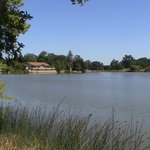 The Lake and the Atascadero Pavillion