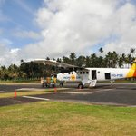 Our tiny little plane to get to Taveuni. 3hrs ride