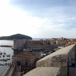 Panorama of Dubrovnick from the city walls