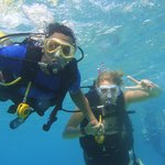 Diving in San Andres