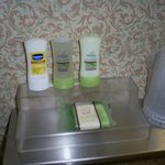 name brand toiletries