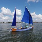 Sailing across Clear Lake and relax! Holiday Inn Kemah