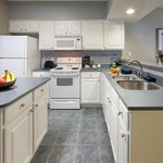 2-Bedroom kitchen makes preparing meals a pleasure