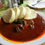 Deer goulash
