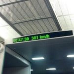 in the maglev..look at the speed.got to pudong airport in just a few minutes